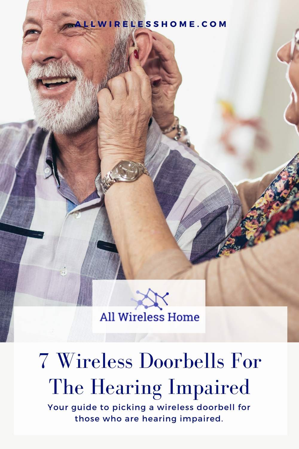 7 Wireless Doorbells For The Hearing Impaired