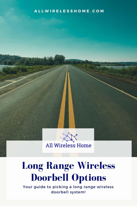 Long Range Wireless Doorbell Options