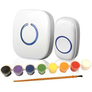 SadoTech Model C Paintable Wireless Doorbell