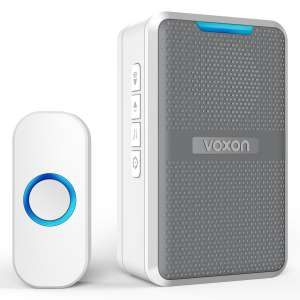 Voxon Wireless Doorbell For Hard Of Hearing