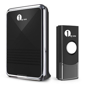 1byone Easy Chime Portable Wireless Doorbell