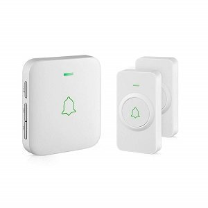 Avantek white CW-21 loud wireless doorbell