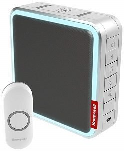 Honeywell Wireless doorbell with 1 push button and 1 receiver