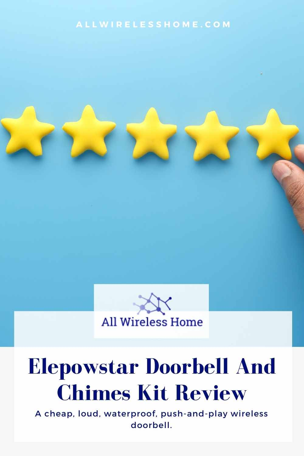 Elepowstar Doorbell And Chimes Kit Review (1)